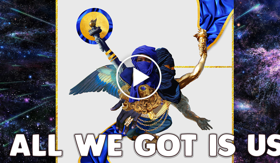 """All We Got Is Us"" – Chill Melodic Rap beat hip Hop Instrumental (Prod. Lboogz)"