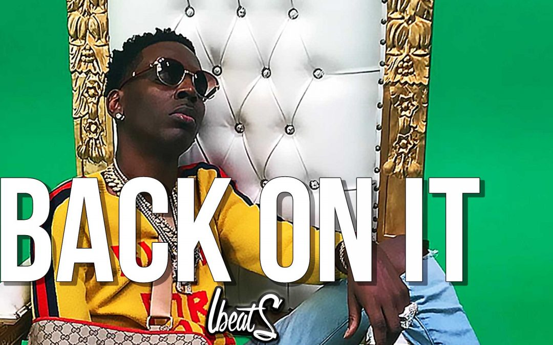 """Gangsta piano baller young dolph type beat """"back on it"""" Instrumental"""