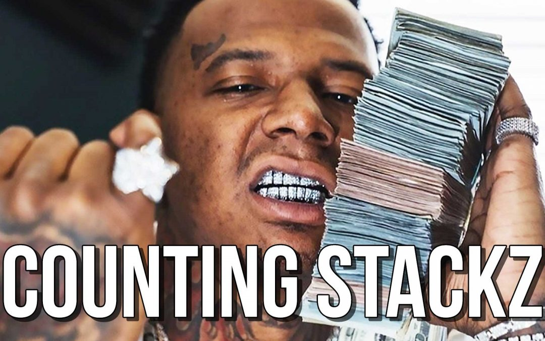 """Big Synth Sounds Aggressive Beat """"Countin Stackz"""" Instrumental"""