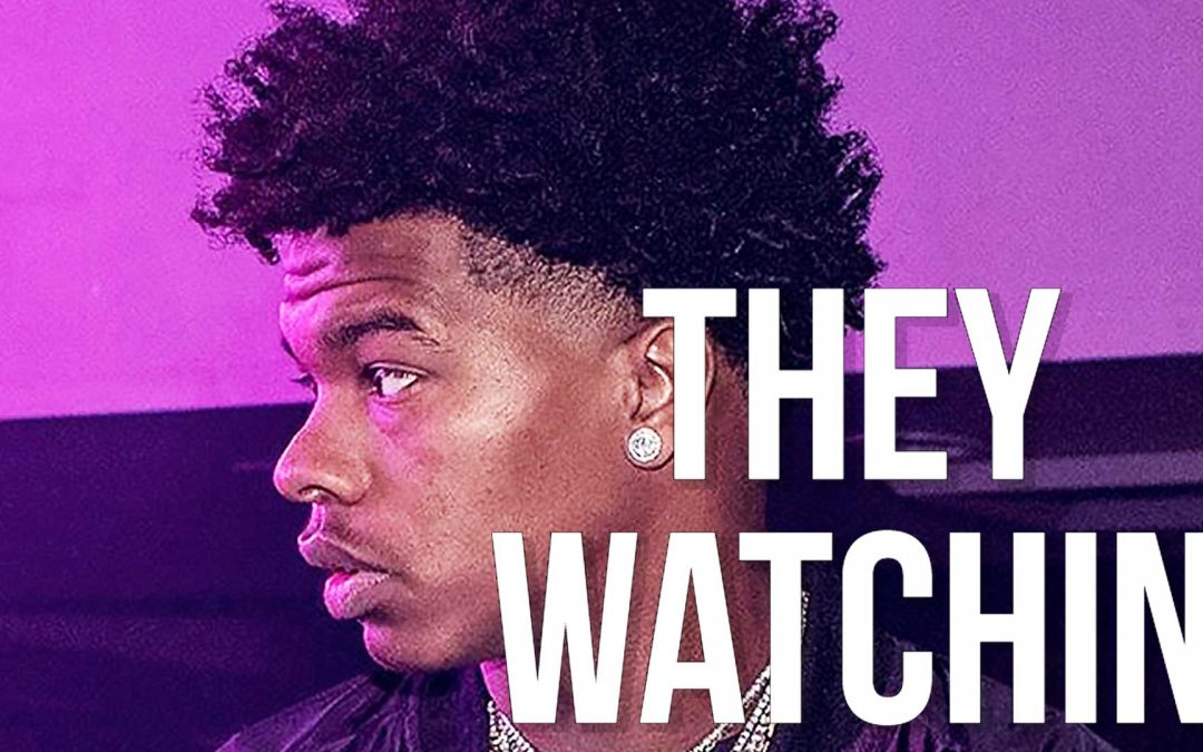 """Melodic Chill Lil Baby Type Beat """"They Watchin"""" Instrumental"""